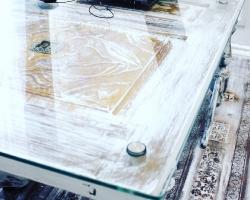 Стеклянная столешница - фото 2