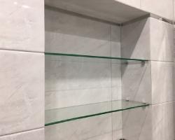 Полки из стекла для ванной - фото 2