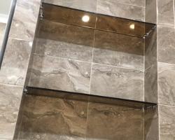 Полки из стекла для ванной - фото 3