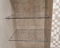Полки из стекла для ванной - фото 5