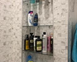 Полки из стекла для ванной - фото 6