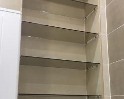 Полки из стекла для ванной - фото 8